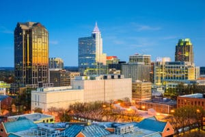 raleigh laser courses